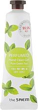 """Parfüm, Parfüméria, kozmetikum Illatosított kézfertőtlenítő """"Frissítő zöldtea"""" - The Saem Perfumed Pure Green Tea Hand Clean Gel"""