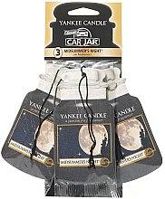 Parfüm, Parfüméria, kozmetikum Autóillatosító szett - Yankee Candle Car Jar Midsummers Night