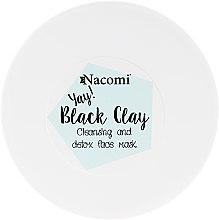Parfüm, Parfüméria, kozmetikum Agyag arcpakolás - Nacomi Black Clay