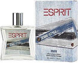 Parfüm, Parfüméria, kozmetikum Esprit Jeans Style Man - Borotválkozás utáni lotion