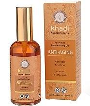 """Parfüm, Parfüméria, kozmetikum """"Anti-aging"""" arc- és testápoló olaj - Khadi"""