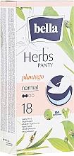 Parfüm, Parfüméria, kozmetikum Egészségügyi betét Panty Herbs Sensetive Plantago, 18db - Bella