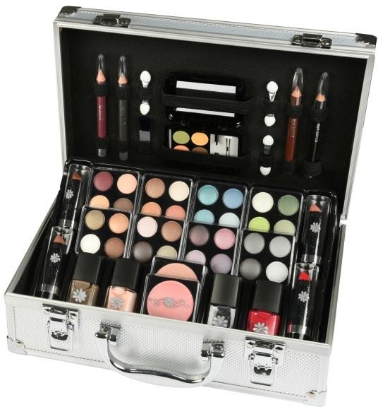 Dekoratív kozmetikum szett - Makeup Trading Schmink Set Alu Case