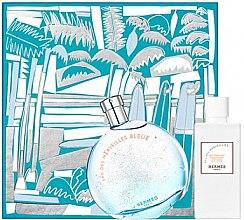 Parfüm, Parfüméria, kozmetikum Hermes Eau des Merveilles Bleue - Készlet (edt/100ml + b/lot/80ml)
