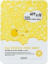 Parfüm, Parfüméria, kozmetikum Tojásos szövetmaszk arcra - Esfolio Pure Skin Egg Essence Mask Sheet