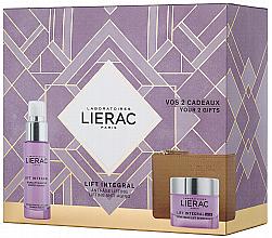 Parfüm, Parfüméria, kozmetikum Készlet - Lierac Lift Integral Nutri (f/cr/50ml + f/ser/30ml + pouch)