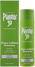 Parfüm, Parfüméria, kozmetikum Sampon elvékonyodot töredezet hajra - Plantur 39 Coffein Shampoo