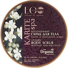 """Parfüm, Parfüméria, kozmetikum Vitaminos testradír """"Feszes és fiatal bőr"""" - ECO Laboratorie Karite SPA Body Scrub"""