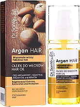 """Parfüm, Parfüméria, kozmetikum """"Helyreállítás és védelem"""" hajolaj - Dr. Sante Argan Hair"""