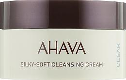 Parfüm, Parfüméria, kozmetikum Gyengéd tisztító arckrém - Ahava Time to Clear Ahava Silky Soft Cleansing Cream