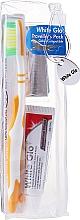 Parfüm, Parfüméria, kozmetikum Utazó készlet szájhigiéniához, narancssárga - White Glo Travel Pack (t/paste/24g + t/brush/1 + t/pick/8)