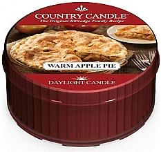 "Parfüm, Parfüméria, kozmetikum Teamécses ""Meleg almáspite"" - Country Candle Warm Apple Pie Daylight"