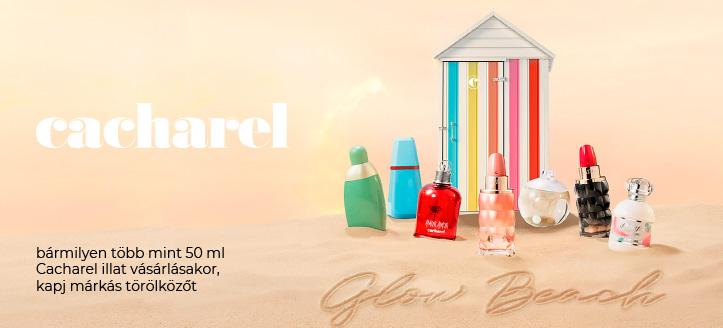 Kapj ajándékba márkás törölközőt, bármilyen több mint 50 ml Cacharel illat vásárlásakor