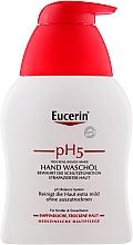 Parfüm, Parfüméria, kozmetikum Kézmosó szer száraz és érzékeny bőrre - Eucerin PH5 Hand Wash