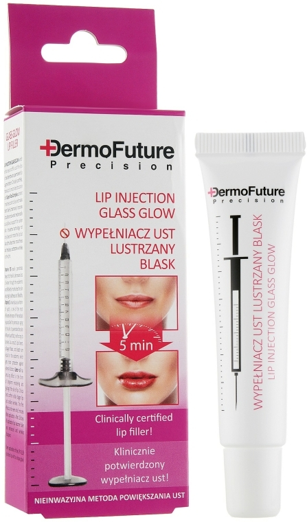 Ajaknövelő szérum - Dermo Future Glass Glow Lip Filler