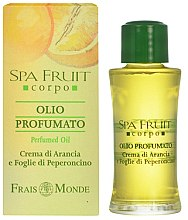 Parfüm, Parfüméria, kozmetikum Frais Monde Spa Fruit Orange And Chilli Leaves Perfumed Oil - Parfüm olaj