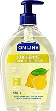 Parfüm, Parfüméria, kozmetikum Konyhai szappan - On Line Kitchen Hand Wash Citrus Soap