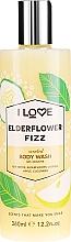 "Parfüm, Parfüméria, kozmetikum Tusfürdő ""Bodza koktél"" - I Love Elderflower Fizz Body Wash"
