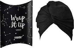 """Parfüm, Parfüméria, kozmetikum Kozmetikai hajpánt """"Turbán"""", fekete - Anwen Wrap It Up Turban"""