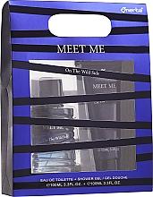 Parfüm, Parfüméria, kozmetikum Omerta Meet Me On The Wild Side - Szett (edt/100ml + sh/gel/100ml)
