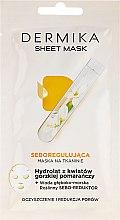 Parfüm, Parfüméria, kozmetikum Helyreállító maszk hegyi narancsvirág hidroláttal - Dermika Sheet Mask