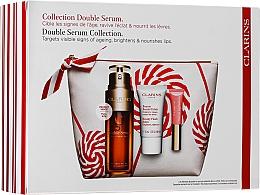 Parfüm, Parfüméria, kozmetikum Szett - Clarins Double Serum Collection (serum/50ml + balm/15ml + lip/gloss/5ml + bag)