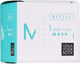 Parfüm, Parfüméria, kozmetikum Hidratáló arcmaszk - AQUAYO Aqua Face Mask (utántöltő)