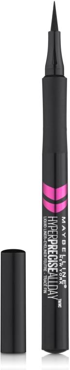 Folyékony szemhéjtus-filc - Maybelline Hyper Precise All Day Liquid Eyeliner Makeup