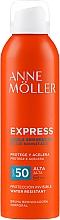 Parfüm, Parfüméria, kozmetikum Napozó spray - Anne Moller Express Bruma Body Tanning Spray SPF50
