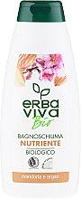 Parfüm, Parfüméria, kozmetikum Tusfürdő és mosakodó gél-hab mandula és argán kivonattal - Erba Viva Bio Nutrient Almonds&Argan