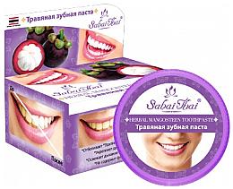 "Parfüm, Parfüméria, kozmetikum Fogkrém ""Mangosztán"" - Sabai Thai Herbal Mangosteen Toothpaste"