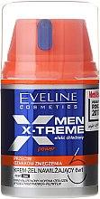 Parfüm, Parfüméria, kozmetikum Gél-krém arcra - Eveline Cosmetics Men X-Treme Power Cream-Gel 6In1