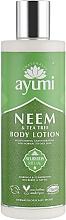 "Parfüm, Parfüméria, kozmetikum Testápoló lotion ""Nim és teafa"" - Ayumi Neem & Tea Tree Body Lotion"