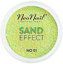 "Parfüm, Parfüméria, kozmetikum Körömglitter ""Sand effect"" - NeoNail Professional Sand Effect"
