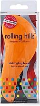 Parfüm, Parfüméria, kozmetikum Hajfésű, narancssárga - Rolling Hills Detangling Brush Travel Size Orange