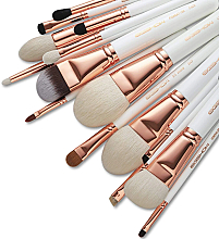 Parfüm, Parfüméria, kozmetikum Sminkecset készlet, 15 db - Eigshow Master Series Classic Brush Kit Rose Gold