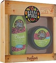 """Parfüm, Parfüméria, kozmetikum Szett """"Körte és vörösáfonya"""" - Farmona Tutti Frutti (oil/425ml + b/oil/200ml)"""