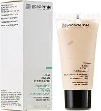 Parfüm, Parfüméria, kozmetikum Tisztító arckrém Juvanyl - Academie Juvanyl Cream Purifying Care