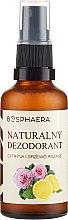 Parfüm, Parfüméria, kozmetikum Természetes izzadásgátló citrommal és rózsával - Bosphaera