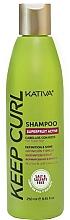 Parfüm, Parfüméria, kozmetikum Sampon hullámos hajra - Kativa Keep Curl Shampoo