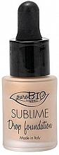 Parfüm, Parfüméria, kozmetikum Folyékony alapozó - PuroBio Sublime Drop Foundation