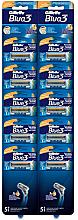 Parfüm, Parfüméria, kozmetikum Eldobható borotva, 10db - Gillette Blue 3