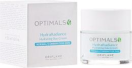 Hidratáló nappali krém normál és kombinált bőrre - Oriflame Optimals Hydra Radiance Hydrating Day Cream — fotó N1