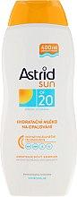 Parfüm, Parfüméria, kozmetikum Napvédő tej SPF 20 - Astrid Sun Moisturizing Suncare Milk
