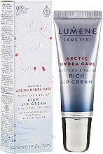 Parfüm, Parfüméria, kozmetikum Hidratáló ajakkrém - Lumene Arctic Hydra Care [Arktis] Rich Lip Cream