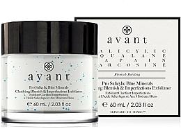 Parfüm, Parfüméria, kozmetikum Hámlásztó krém - Avant Pro Salicylic Blue Minerals Clarifying Blemish & Imperfections Exfoliator