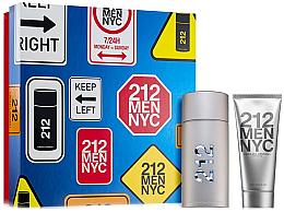 Parfüm, Parfüméria, kozmetikum Carolina Herrera 212 Men NYC - Szett (edt/100ml + ash/gel/100ml)