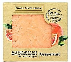 """Parfüm, Parfüméria, kozmetikum Szilárd sampon-kondicionáló """"Grapefruit"""" - Stara Mydlarnia Grapefruit 2in1 Shampoo Bar"""
