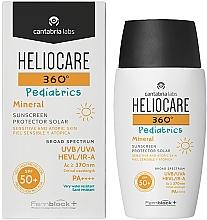 Parfüm, Parfüméria, kozmetikum Gyerek ásványi napvédő gél-krém SPF 50+ - Cantabria Labs Heliocare 360? Pediatrics Mineral SPF 50+