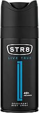 Parfüm, Parfüméria, kozmetikum STR8 Live True - Deo spray